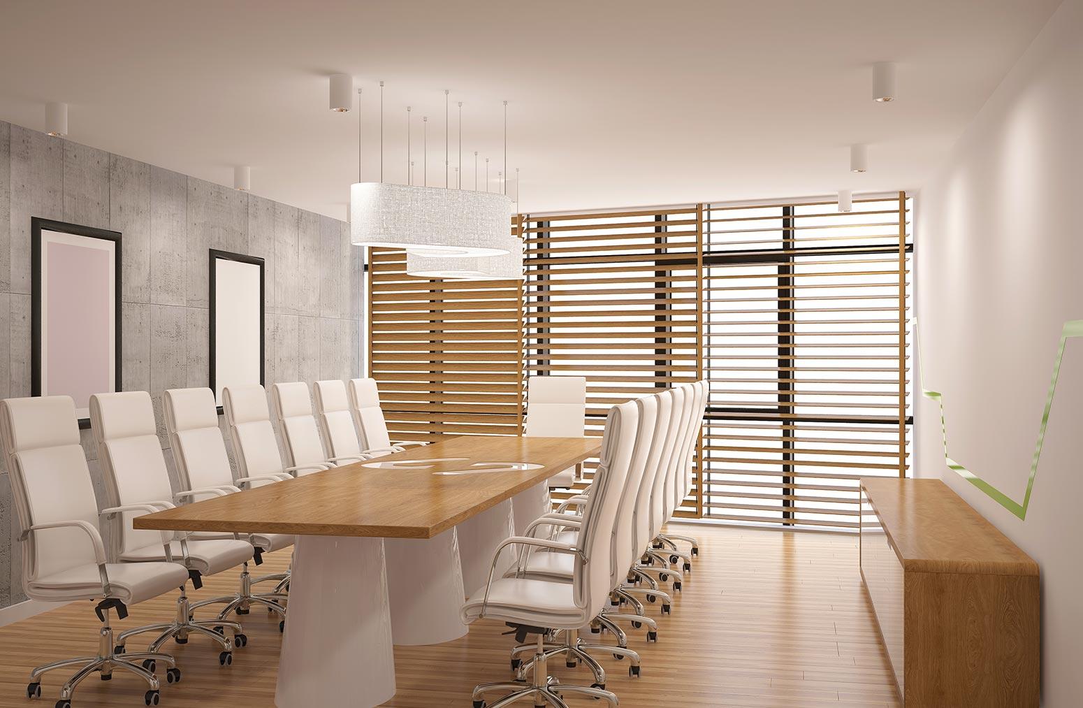 Ventajas de usar persianas en la oficina
